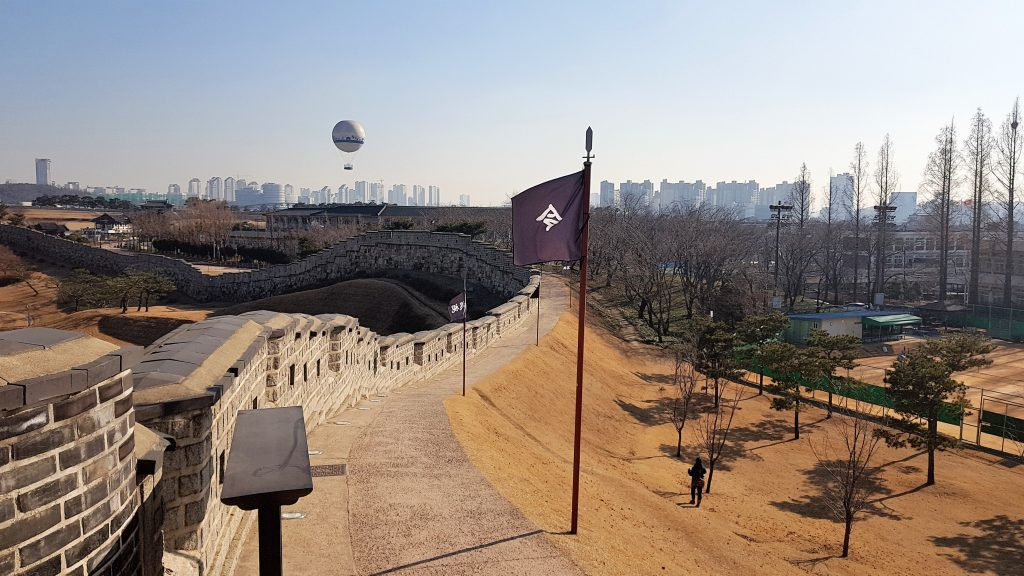 Flying Suwon, el globo aerostático de Suwon, puede ser una experiencia genial para disfrutar de las vistas de la ciudad.