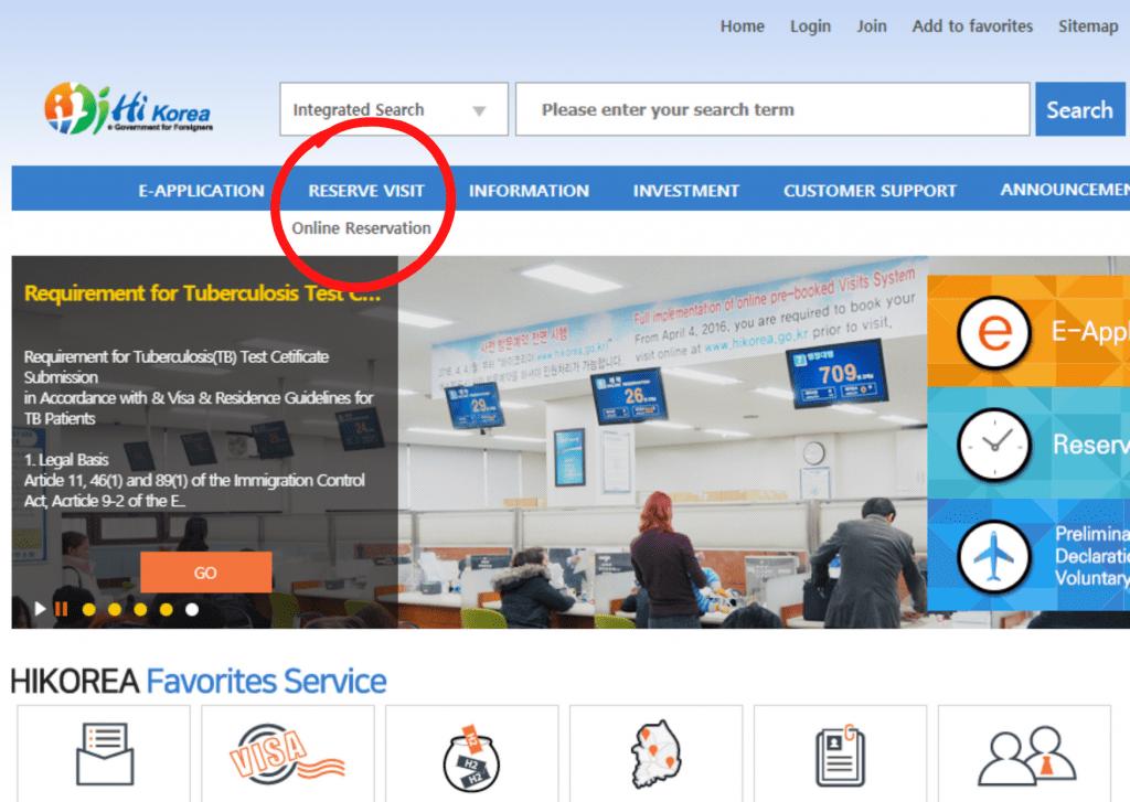 Reservar cita en la web hikorea