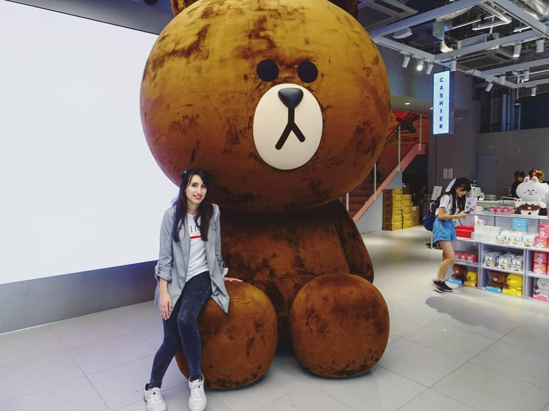 Mery en su vida diaria por Seúl, capital de Corea del Sur.