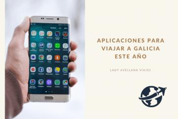 Aplicaciones para viajar a Galicia este año.