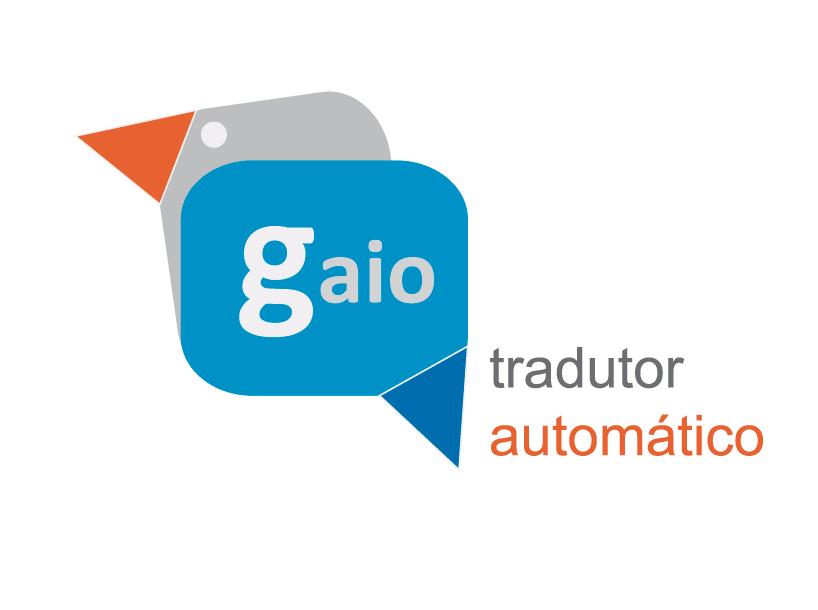 Tradutor Gaio: Logo del traductor automático de español a gallego.