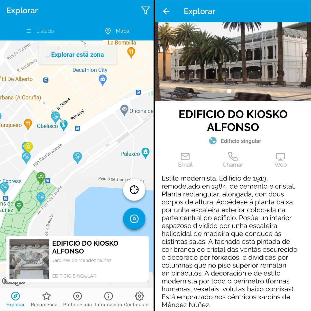 Turismo de Galicia: La aplicación móvil de turismo en Galicia.